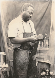 Greg Brown at Fortuna's Shoe and Leather Repair